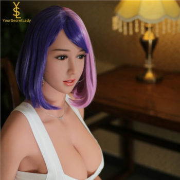 Celin – Humble Japanese Real Silicone Sex Doll, 135 cm - Blonde silicone sex dolls